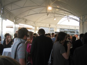 BFI / LFF reception on the roof of the Palais Stephanie